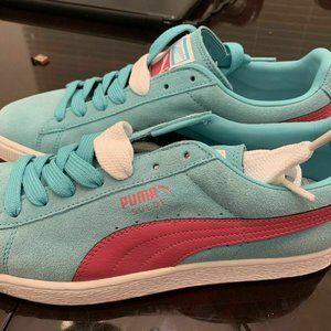 Puma Suede Classic LFS # 356328 05 Baby Blue Pink
